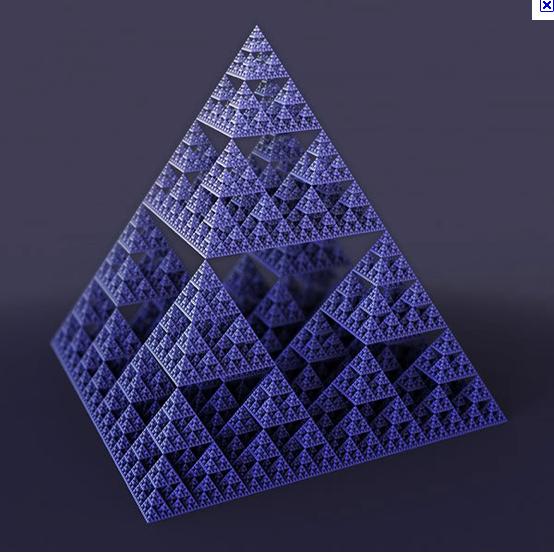 pyramide sierpinsky 2